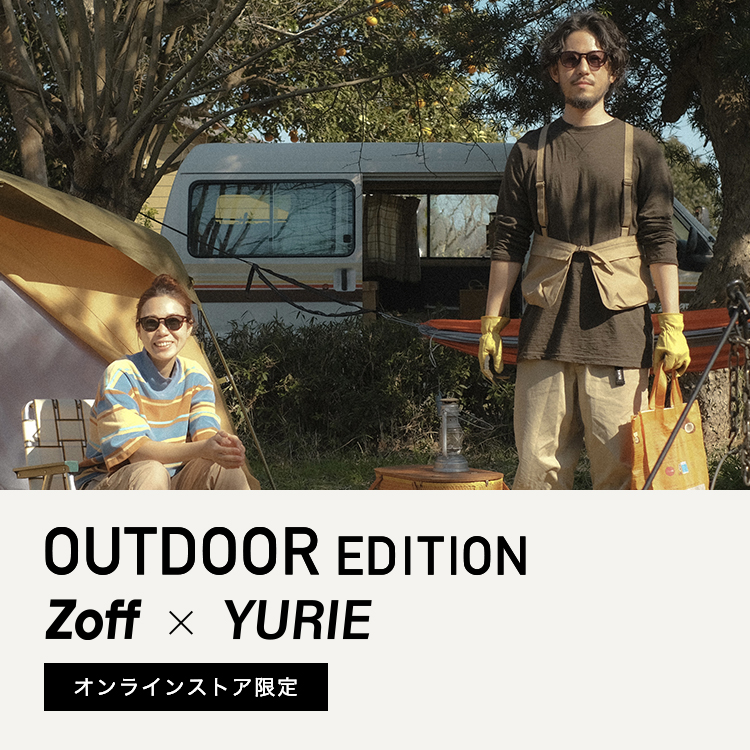 Zoff × YURIE OUTDOOR EDITION