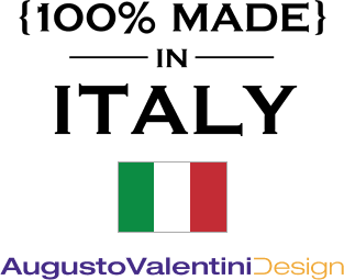 100% MADEI IN ITALY AugustoValentiniDesign