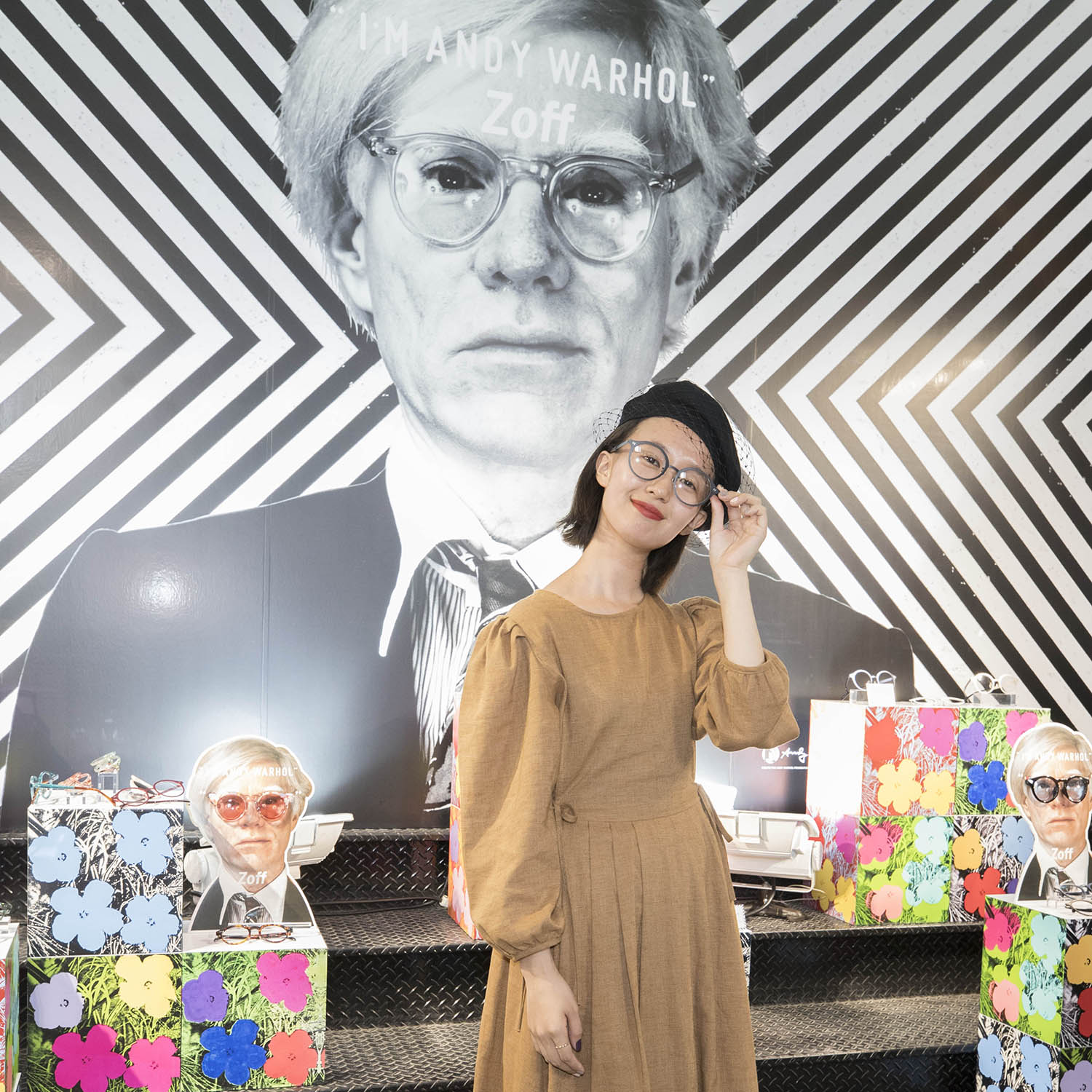 Zoff × ANDY WARHOL Press Preview & Reception Party