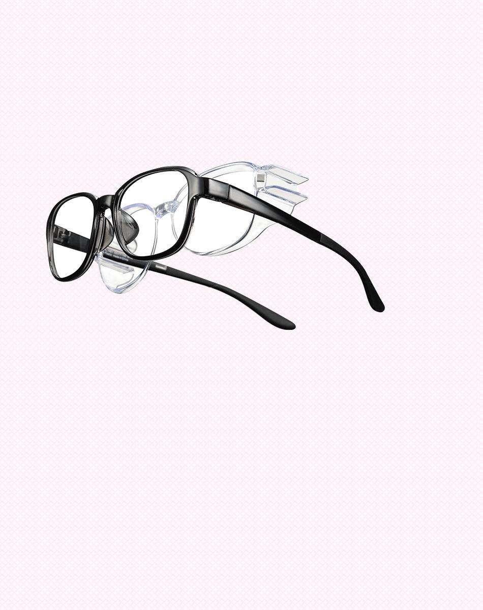7d9d25d1a47dab フードが取り外しでき1本2役のメガネ。 通年の花粉や粉じん対策にもおすすめ。