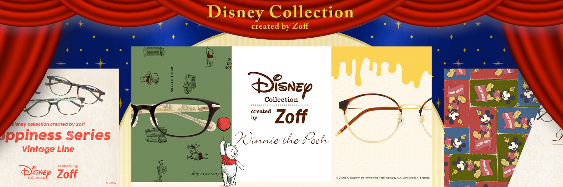 DISNEY Collection created by Zoff (ディズニー・コレクション)